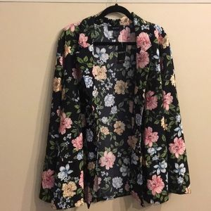 Floral lightweight jacket